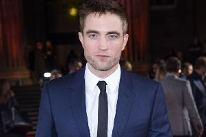 Robert Pattinson. PIC: PA