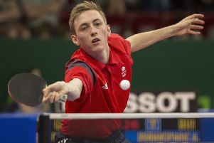 Chesterfield table tennis star Liam Pitchford (Pic: Paul Sanwell)