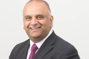 County Cllr Azhar Ali, Labour opposition group leader
