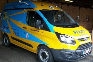 Northumbria Police's speed camera van.