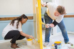 Improvements: The Birstall Community Centre Trust project was supported by 35 PPG volunteers.