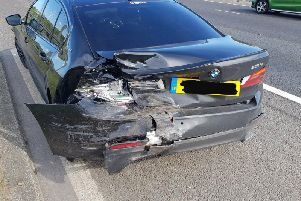 Photos show the extent of the damage on the vehicles involved in the crash. PIC: Motorway Martin