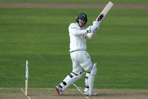 Ben Slater, who stroked a majestic, unbeaten 77 to guide Chesterfield to their target. (PHOTO BY: David Rogers/Getty Images)