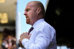 Burnley manager Sean Dyche''Photographer Alex Dodd/CameraSport''The Premier League - Burnley v Arsenal - Sunday 12th May 2019 - Turf Moor - Burnley''World Copyright � 2019 CameraSport. All rights reserved. 43 Linden Ave. Countesthorpe. Leicester. England. LE8 5PG - Tel: +44 (0) 116 277 4147 - admin@camerasport.com - www.camerasport.com