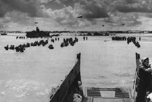 The D-Day landings saw more than 60,000 British troops land on the beaches of Normandy to fight Nazi Germany