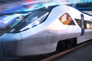 Alstom's design for the new HS2 trains
