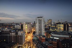 Leeds City Centre could soon be the new home to a multinational finance company.