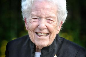 Connie Sharples was stationed with the all-female 93rd Searchlight Regiment in London during the Blitz.