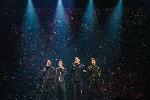 Westlife will perform at Leeds' First Direct Arena on 10 and 11 June (Photo: Smg-Europe)