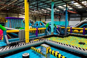 The Jumpin Inflatable Fun factory!
