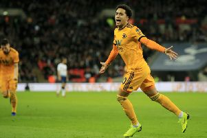 Wolves willing to listen to offers for Helder Costa.