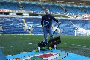 Andy Maxfield, an HMP Kirkham prison officer from Inskip, will attempt to break the Guinness World Record for pushing a walk-behind lawnmower as far as possible in 24 hours
