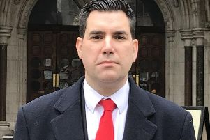 Leeds MP Richard Burgon outside court following the libel ruling against The Sun newspaper in February. Picture: PA