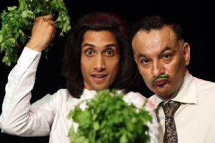 Nick Ahad's comedy play The Chef Show will be at Hanging Heaton Cricket Club next week.