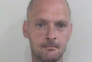 Colin Hannan, from Preston, is wanted by police in relation to two burglaries last month (May 2018)