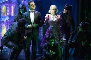 Joanne Clifton plays Janet in the Rocky Horror Show
