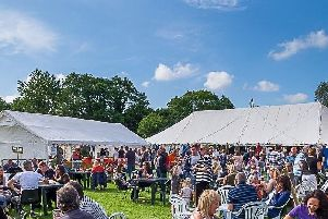 Packing them in - last summer's turnout at the Walmer Bridge Beer and Banger Festival.