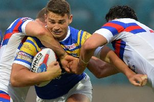 Stevie Ward: On the way back.
