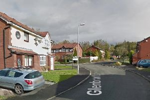 The attack took place in Glenbranter Avenue in Ince