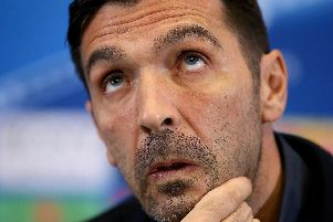 EYE ROLLING: Reports that Leeds United are trying to sign legendary Italian goalkeeper Gigi Buffon, above, are well wide of the mark.