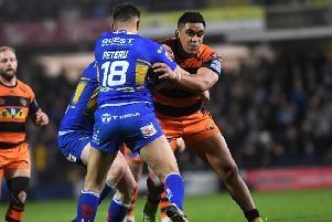 INJURY BLOW: Castleford Tigers.' Junior Moors.' Picture: Jonathan Gawthorpe