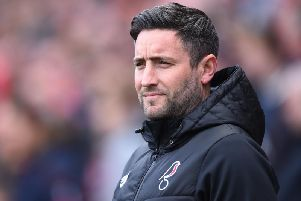 Bristol City boss Lee Johnson.