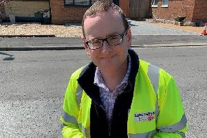 James Gardner, highways operations engineer at Lancashire County Council