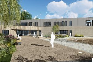 An artist's impression of the unit, to be built on the St Mary's Hospital site in Armley.