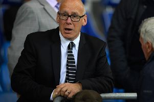 Derby County owner Mel Morris.
