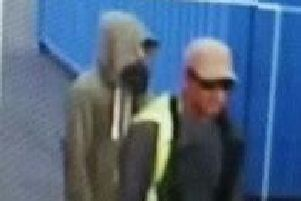 Have you seen these two men?
