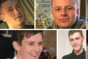 From top left to bottom right: Declan Grove, Matt Walshaw, Brandon Frew and Caelan Megson.
