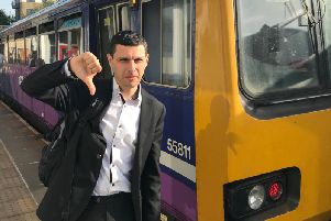 Alex Sobel MP gives Northern Pacer trains the thumbs down.