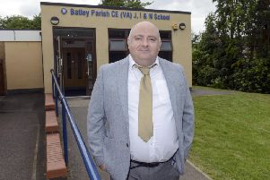 Phil Sunter, head teacher of Batley Parish C of E Junior, Infants and Nursery School