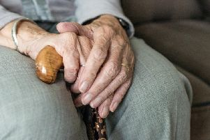 A picture of a pensioner