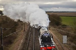 The Flying Scotsman will be in Leeds this weekend