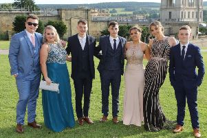 The youngsters marked a wonderful occasion in a fitting stately setting at Chatsworth.