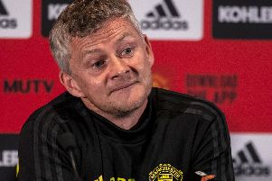 THUMBS UP: For Leeds United from Manchester United boss Ole Gunnar Solskjaer, pictured on his club's pre-season tour of Australia. PICTURE BY TONY ASHBY/AFP/Getty Images