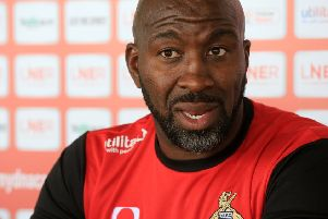 Doncaster Rovers manager Darren Moore. Picture: Chris Etchells
