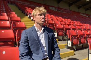 Dane Murphy, new chief executive of Barnsley. ''Picture supplied by Barnsley FC.