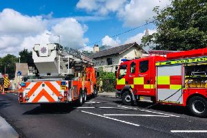 Fire crews battled the blaze for more than 12 hours Pic: Gordon Head