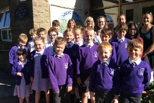 Pupils and staff at Thorneyholme RC Primary School in Dunsop Bridge were thrilled to be rated good by OFSTED inspectors.