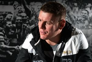 Hull FC head coach Lee Radford.' Picture: Bruce Rollinson