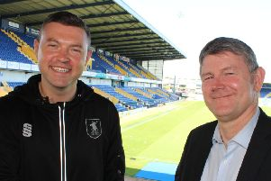 Boss John Dempster and assistant Lee Glover.
