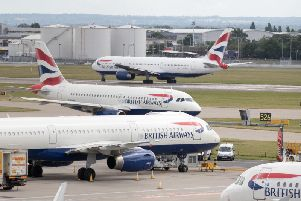 The airline will seek an injunction on Tuesday