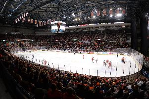 Sheffield Arena welcomes Sheffield Steelers back on August 31. Picture: Dean Woolley.