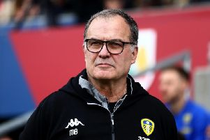 Leeds United head coach Marcelo Bielsa. (Getty)