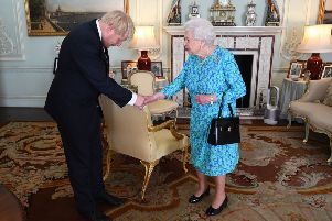 Boris Johnson accepts the invitation of the Queen to become Prime Minister and form a government.