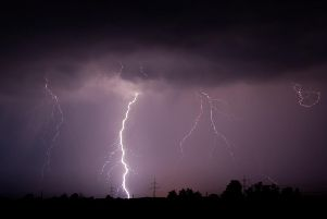 A thunderstorm is set to hit Leeds on Wednesday.