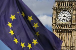The Prime Minister is holding meetings over his plan for Brexit. Photo: Daniel Leal-Olivas/PA.