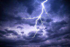 A thunderstorm is set to hit Leeds this weekend
